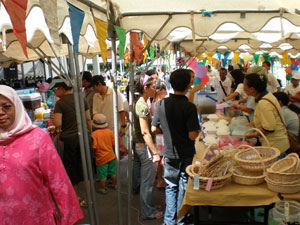 A Bazaar in Conjunction with the Welfare Month 2008